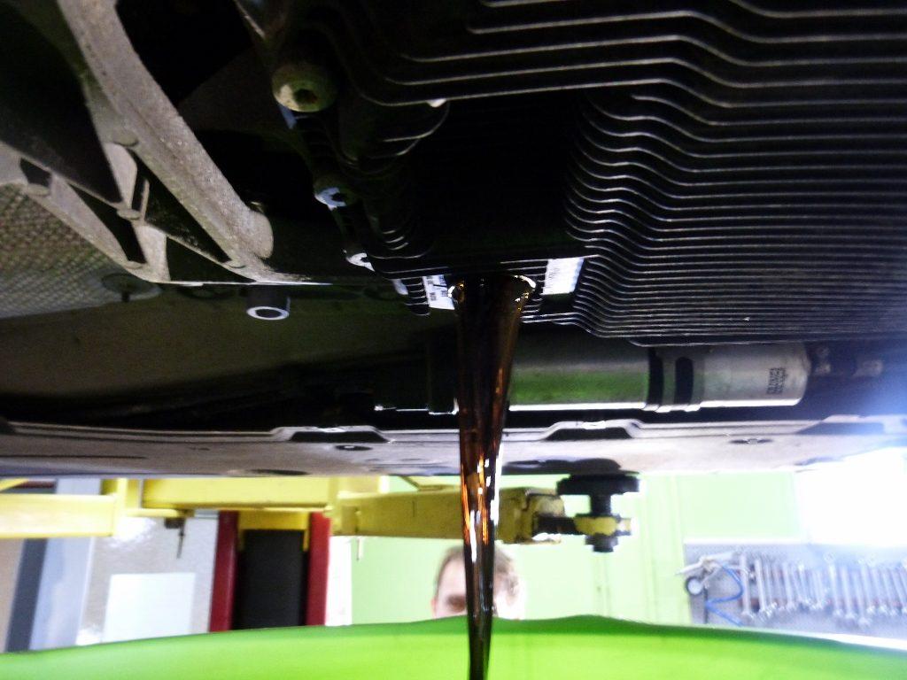 bmw 320d 2009 vymena oleja v automatickej prevodovke